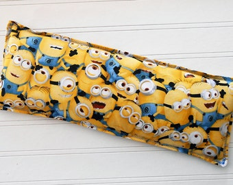 Minion Mess - Microwavable Heating Pad and Ice Packs, Keepin' Cozy Willy Pad; Warm Compress and Cold Compress, Multiple Sizes