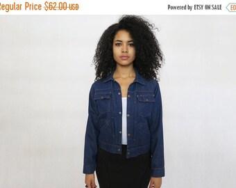 35% OFF SUMMER SALE The Vintage Dark Wash Heritage Workwear Denim Jacket