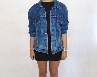 35% OFF SUMMER SALE The Vintage Dark Wash Western Levi's Jacket