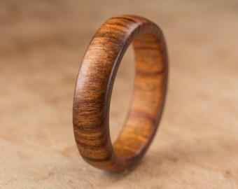 Size 10.75 - Tamboti Wood Ring No. 237