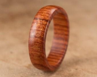 Size 9.75 - Mopani Wood Ring No. 104