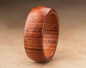 Size 10 - Mopani Wood Ring No. 112