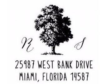 Custom Return Address - Rubber Stamp