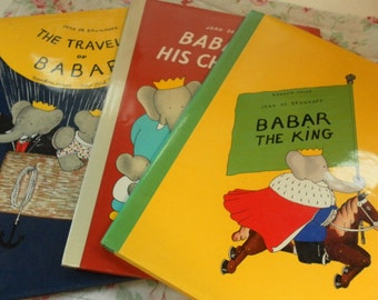 Trio of large BABAR books in excellent condition!