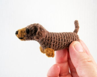Mini Pets - Tiny Cat and Dog Amigurumi Patterns PDF - Crochet Pattern