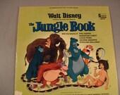 Vintage Walt Disney/ L.P. Record/  Jungle Book/ Nice Condition 1967 /featuring Sebastian Cabot
