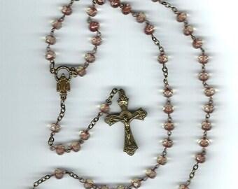 Handmade Bronze Rosary