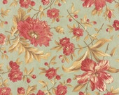NEW Larkspur by 3 sisters for Moda  Garden Blooms in Mist 1 yard