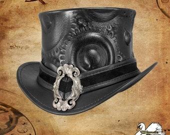 Steampunk Gear Leather Mini-Topper