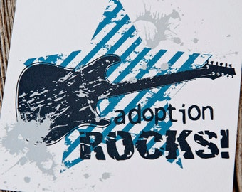 Adoption Rocks Art Print, Adoption Products, Gifts for Adoption, Adoption Gifts, Adoption Gifts for Children, Adoption Quotes