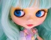 Fashion Doll Jewelry Pastel Stars Necklace Linked Star Fairy Kei Sweet Lolita Jewelry 11 inch Dolls