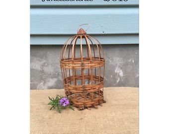 Decorative Bird Cage - Birdcage - Bohemian Decor - Garden Decor - Wooden Bird House - CHIC