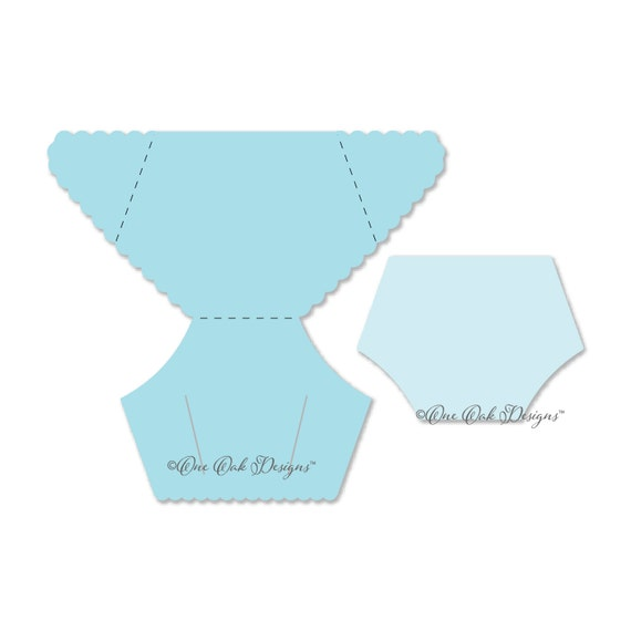 diaper cut out template - diaper card template svg file pdf dxf jpg png eps ai