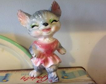 Vintage Kitsch Cat