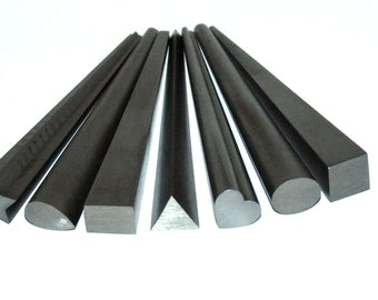 Set Of 7 Assorted Solid Steel Shaping, Forming And Wrapping Mandrels SALE