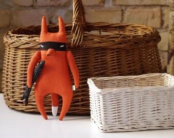 Bandit Fox & Fish