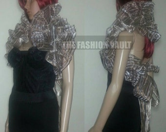 Dance costume collar bolero shrug