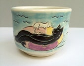 "RESERVED FOR PFOX Black Cat Cup 1, ""Happier Times Ahead"" Proceeds to Benefit Louisiana Flood Relief (BlackCat1)"