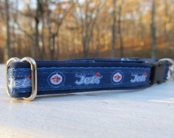 Winnipeg Jets Cat or Small Dog Collar