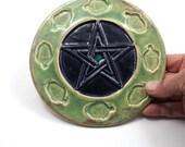 Pentagram Altar Tile Handmade Pottery