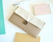 Herringbone iPhone Case, Phone Sleeve, Handmade Padded Fabric iPhone Case, Nexus 6P Case, Galaxy S7, iPhone Wallet, iPhone 6, iPhone 6S Plus