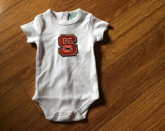 Boys/Girls, Toddlers NC SNtate Collegiate Onesie
