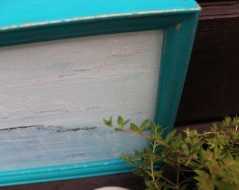 Framed Seascape ,  Fine  Art , Beach Wall Gallery Original Painting for Coastal Home