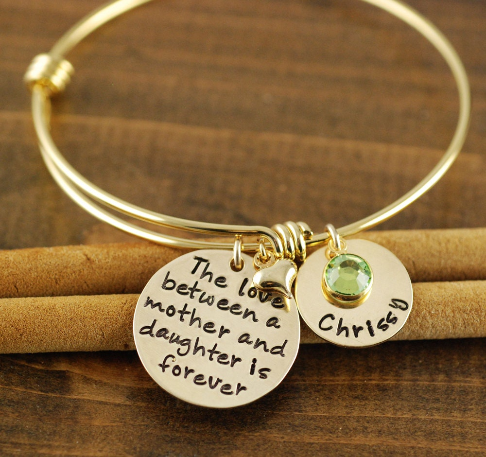 Love Between A Mother And Daughter Is Forever Bracelet By