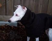 2 Italian Greyhound English Style Fleece Coats