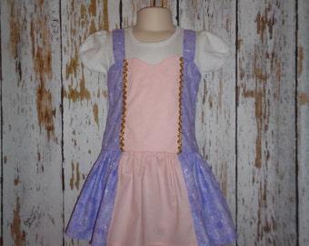 Rapunzel Princess Birthday Costume or Pageant Dress