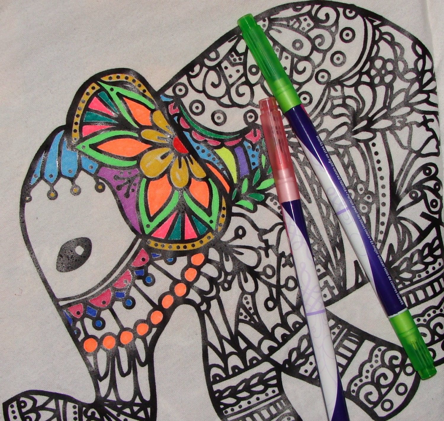 Design your own t-shirt coloring page - Letter M Transfer Iron On Heat Press Adult Coloring Page Zendoodle For T Shirts Totes Diy Color With Fabric Markers Personalized Party Favor