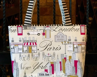 LARGE TOTE - The Jetsetter