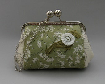 Apple Blossom Clutch