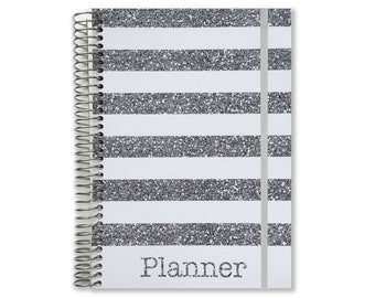 2017 Monthly Planner Book | 2017-2018 Calendar Monthly Planner | Customized Monthly Planner | Personalized Planner | Yearly Planner
