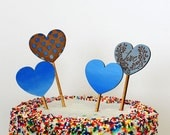 Give A Heart - Cake Toppers