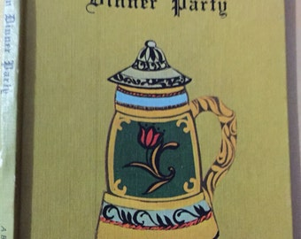 Cookbook GERMAN DINNER PARTY Buzza 1971 small hb cookbook 26 pages, food recipes, party ideas International series