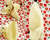 Batnana banana peel toy plushie sleeping bag for FruitBats