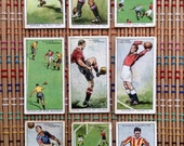 1928 Cigarette Cards, Football Players