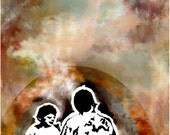 Fine Art Print // The Generations // Free Shipping