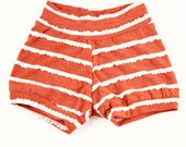 Shorties- Coral shorties / Bummies / Baby Girl Shorts