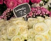 Paris Photograph Flower Shop Bouquet Flowers Photo White Roses Paris Decor France Print Wall Art par145