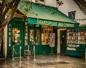 Photo of Shakespeare and Company Bookstore, Paris Photograph, Paris Bookshop, Gifts For Readers Decor par198
