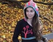 Upcylced Rainbow-Tree Sweater