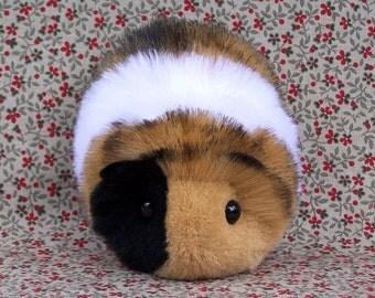 Calico Toy Guinea Pig Handmade Plushie