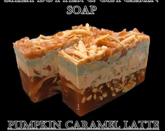 Shea Butter and Glycerin Soap-Pumpkin Caramel Latte