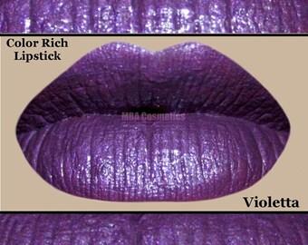 Purple Color Rich Lipstick- Violetta