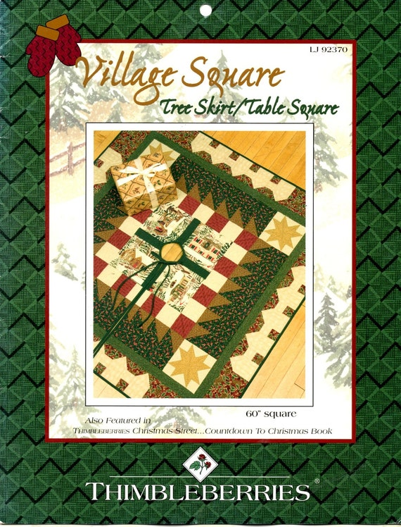 Square Tree Skirt 95