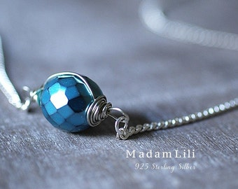 925 Sterling Silver Ice Age Necklace