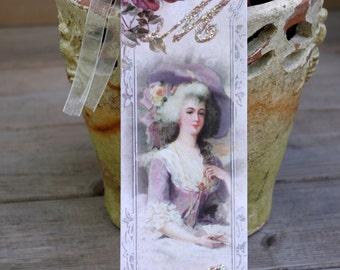 Romantic Shabby Chic Marie Antoinette  Bookmark