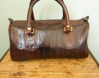 Eel Skin Speedy Bag  SALE